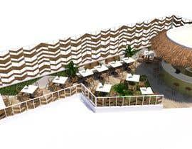#66 para Make 3d renderings for a small vegan/bar restaurant. por arqfernandezr
