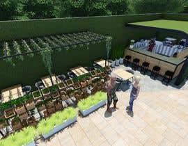 #60 para Make 3d renderings for a small vegan/bar restaurant. por aliwafaafif