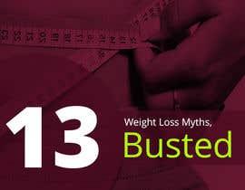 #9 untuk Design Simple Ebook Cover for Weight Loss Ebook oleh designcreativ