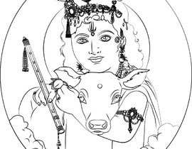 #17 untuk Line vector of Indian Gods from reference Photos using Adobe Illustrator oleh Sico66