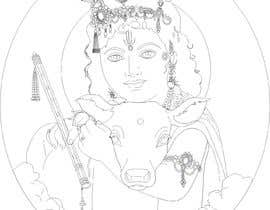#18 untuk Line vector of Indian Gods from reference Photos using Adobe Illustrator oleh Sico66