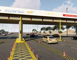 #14 для 3D Max Project (LED Screen on bridge) от udzi