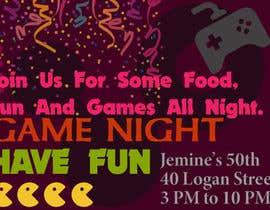 #2 para Game night invitations por imran123imran8