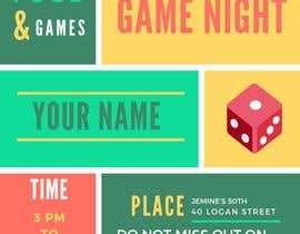 #5 para Game night invitations por chicville