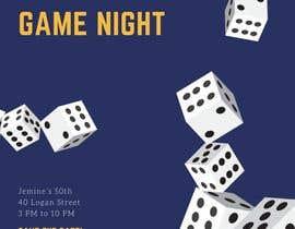 #7 para Game night invitations por chicville