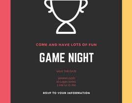 #9 para Game night invitations por chicville