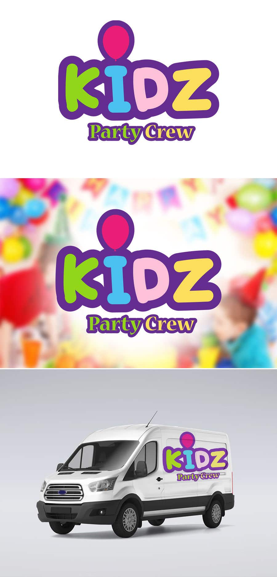 Konkurrenceindlæg #28 for Logo for Kidz Party Crew