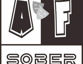 #30 untuk Sober AF Logo oleh hendryheryawanse