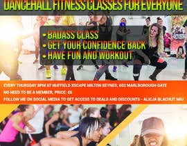 nº 2 pour Flyer for dance fitness class par ZakTheSurfer