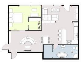 #34 для Floorplan for luxury vacation apartment от Ab0mar