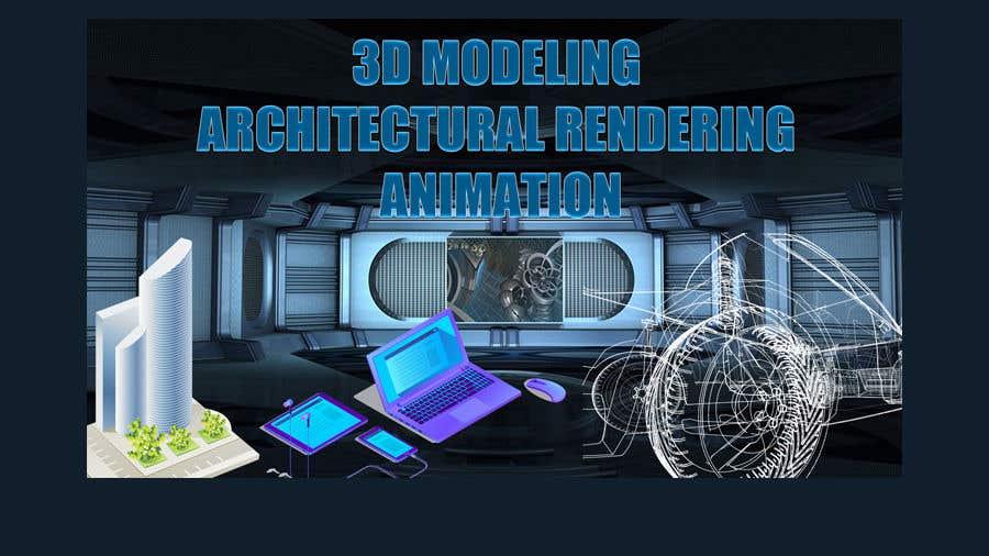 """Intrarea #13 pentru concursul """"1600x900 resoution graphic/poster design- 3D Theme"""""""