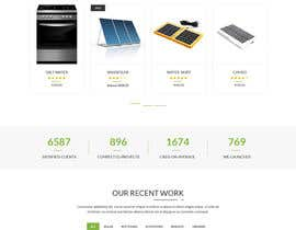 #59 untuk wordpress theme design for battery and lighting subject oleh zaxsol