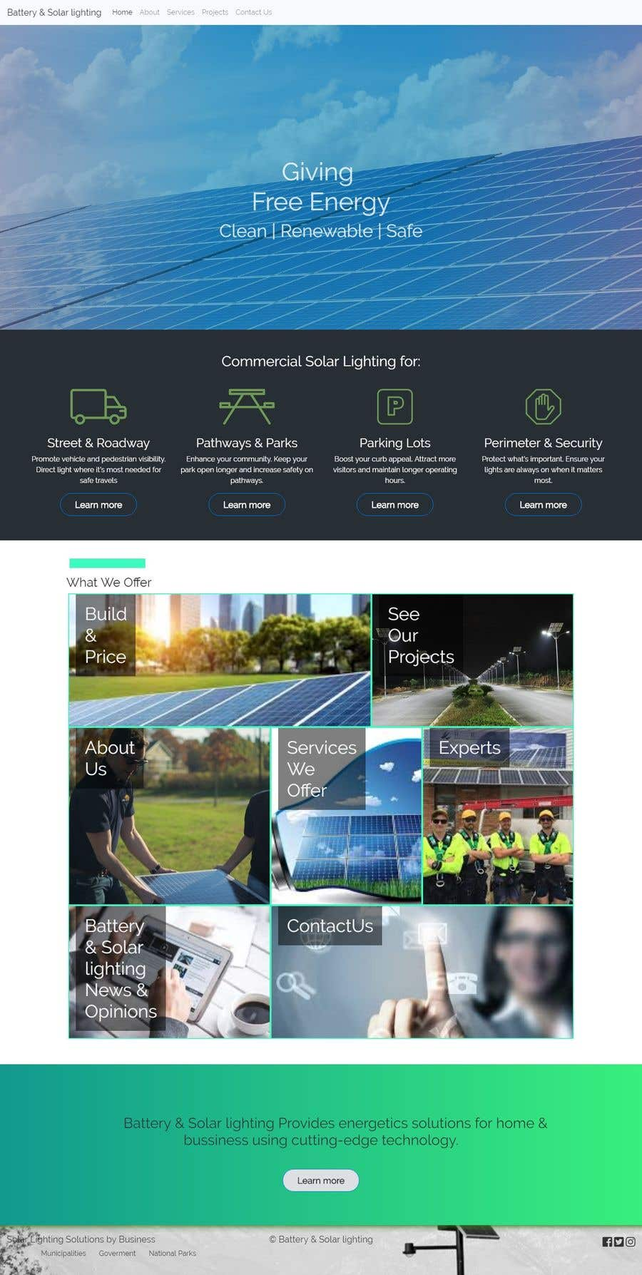 Penyertaan Peraduan #29 untuk wordpress theme design for battery and lighting subject