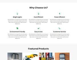 #60 untuk wordpress theme design for battery and lighting subject oleh ArafPlays