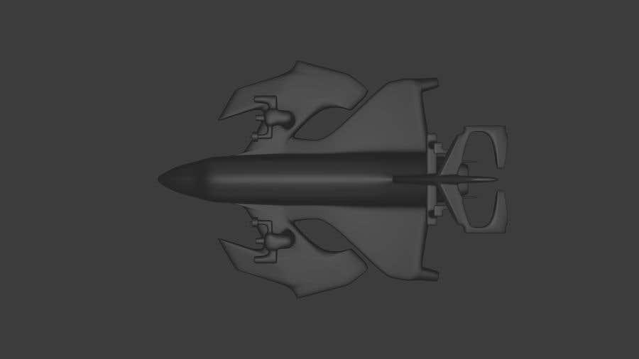 Wettbewerbs Eintrag #                                        38                                      für                                         Spaceship 3D-modeling for a new Game