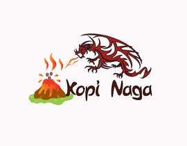 #12 for Make me a logo - Kopi Naga (Indonesian of Dragon Coffee) af creativeworker07