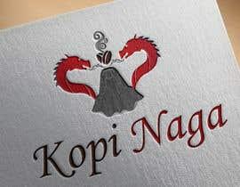 #26 for Make me a logo - Kopi Naga (Indonesian of Dragon Coffee) af sakibhossain72