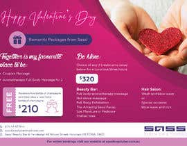 #29 for Adobe Illustrator Press Ready Postcard sized flyer for Valentine's Day by kishan0018