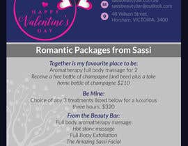#25 for Adobe Illustrator Press Ready Postcard sized flyer for Valentine's Day by colorbudbd79