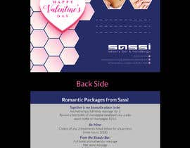 #34 for Adobe Illustrator Press Ready Postcard sized flyer for Valentine's Day by colorbudbd79