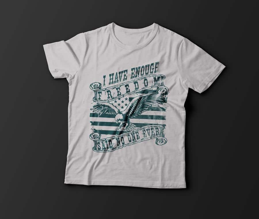 Proposition n°22 du concours We Need a T-Shirt Design - Patriotic Theme