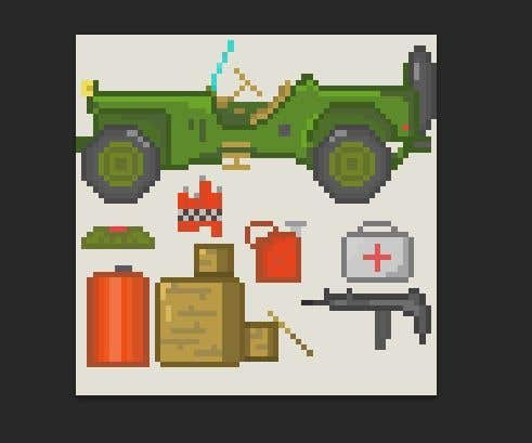Contest Entry #4 for Create some pixel art for a turn-based strategy game