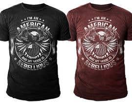 nº 31 pour We Need an Original Design for a T Shirt - Patriotic theme - Guaranteed Contest par SamuelMing