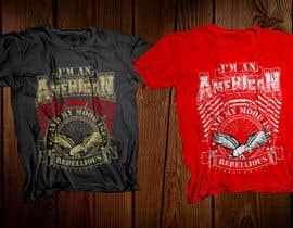nº 32 pour We Need an Original Design for a T Shirt - Patriotic theme - Guaranteed Contest par robiulhossi