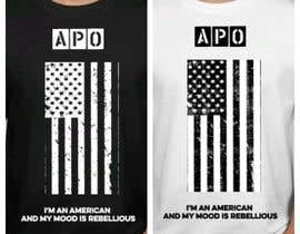 nº 27 pour We Need an Original Design for a T Shirt - Patriotic theme - Guaranteed Contest par frajbk