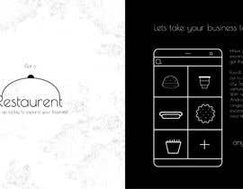 #13 для Amazing Graphic Introduction to a new restaurant app sent by whats up to potential clients от Yadev64