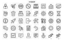 Graphic Design Kilpailutyö #9 kilpailuun Build me a new suite of Icons