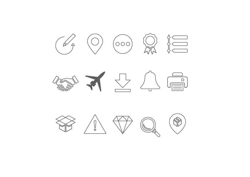 Kilpailutyö #30 kilpailussa Build me a new suite of Icons