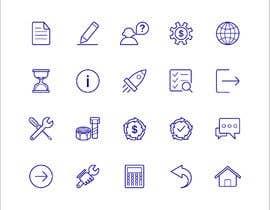 Nro 10 kilpailuun Build me a new suite of Icons käyttäjältä Zhanghuichao325