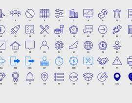 Nro 25 kilpailuun Build me a new suite of Icons käyttäjältä Zhanghuichao325