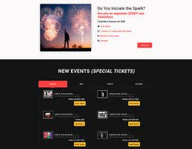#36 for Design homepage Ticketing for events by jaswinder527