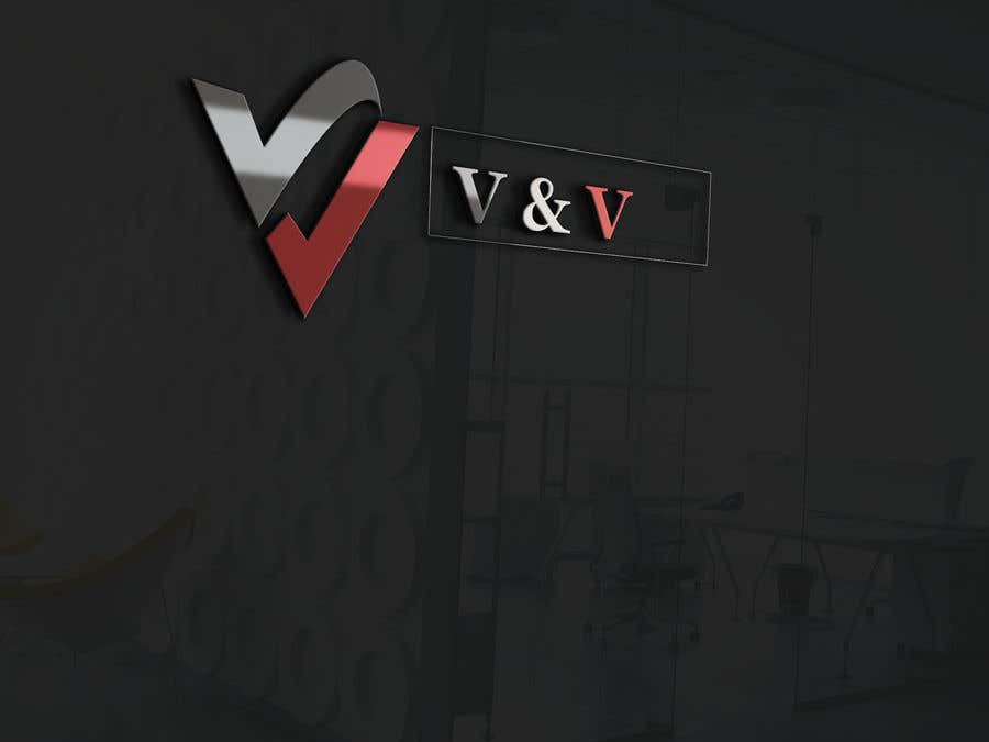 """Contest Entry #93 for Need logo for """"V&V"""" where the Vs are like ticks, looking for something to suit business market"""