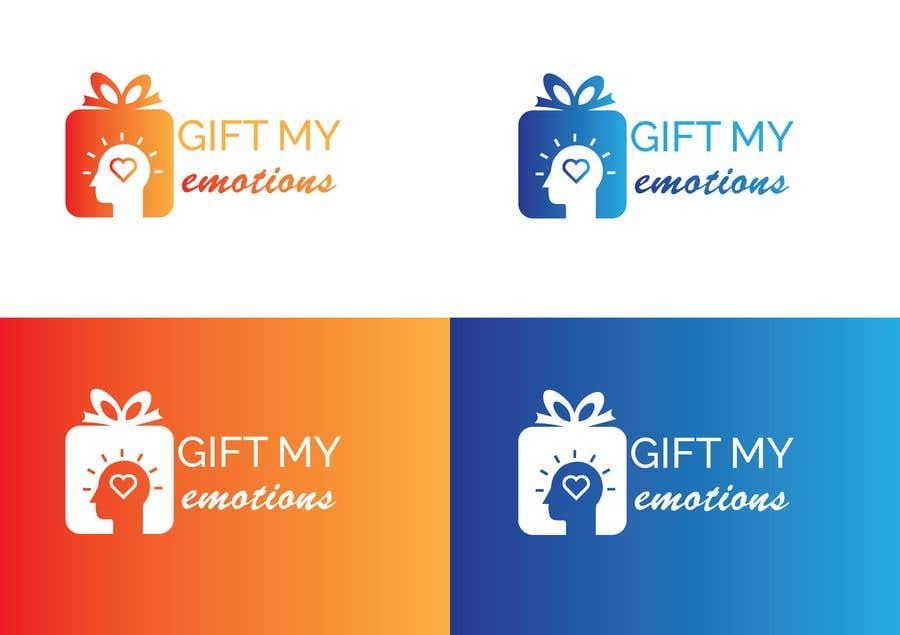 Penyertaan Peraduan #11 untuk Need GiftMyEmotions Logo, App Logo and Splash Screen
