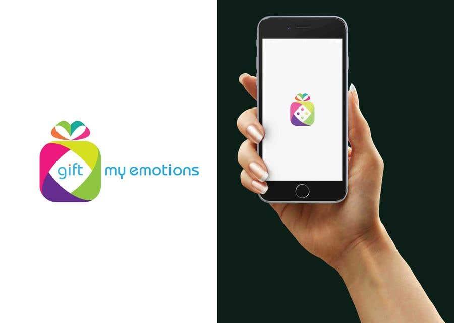 Penyertaan Peraduan #4 untuk Need GiftMyEmotions Logo, App Logo and Splash Screen