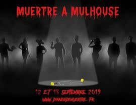 #8 for Design a poster for a murder dinner by MishkaLomidze
