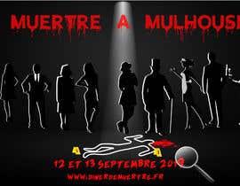 #43 for Design a poster for a murder dinner by csarluna