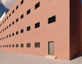 #8 for Create a 2d rendering front elevation of a building by mhd1122