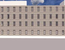 #6 for Create a 2d rendering front elevation of a building by bilro
