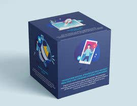 """Nro 28 kilpailuun Design the six faces of a """"marketing"""" cube käyttäjältä fedesoloa"""