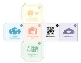 """Nro 10 kilpailuun Design the six faces of a """"marketing"""" cube käyttäjältä AgustinCano"""
