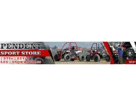#34 pentru Large Banner for front of store 42ft wide by 5 ft high de către jhonfrie