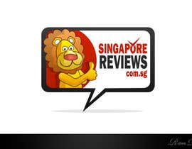 #125 untuk Logo Design for Singapore Reviews oleh Rubendesign