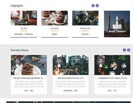 #89 для Food reviews Website от ZaraBhakya