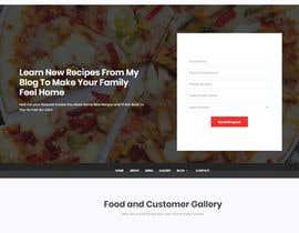 #97 для Food reviews Website от ConnectUDesigns