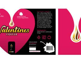 graphikajam tarafından Bottle label for Valentines liquer için no 25
