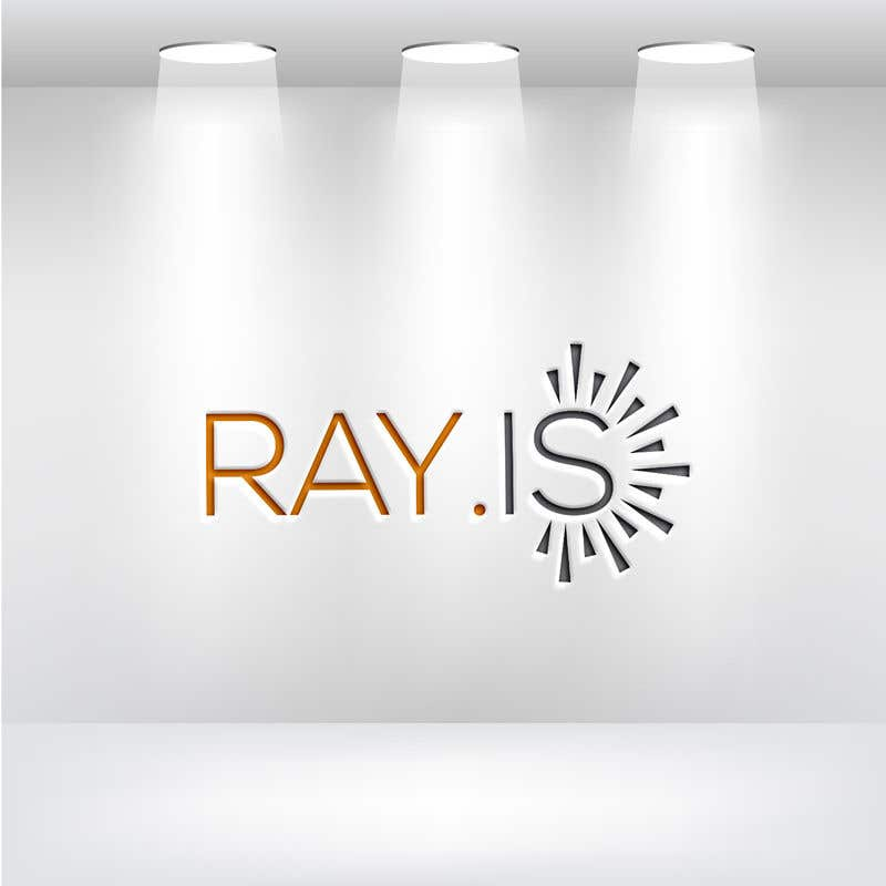 Konkurrenceindlæg #457 for Create logo for RAY.IS